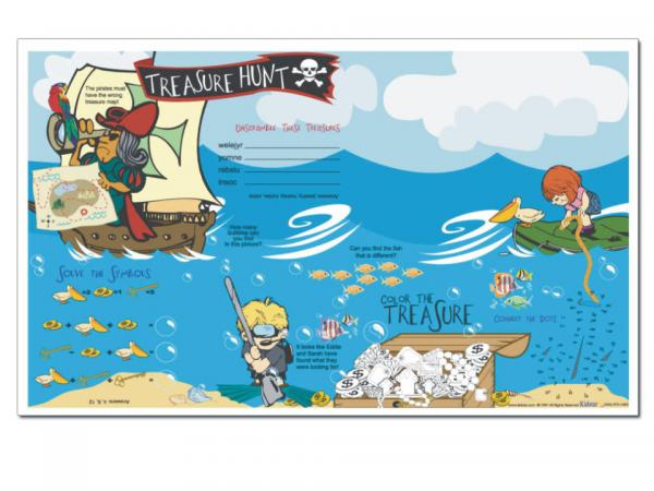 Treasure Hunt Placemat