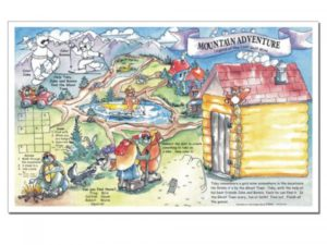 Mountain Adventure Placemat